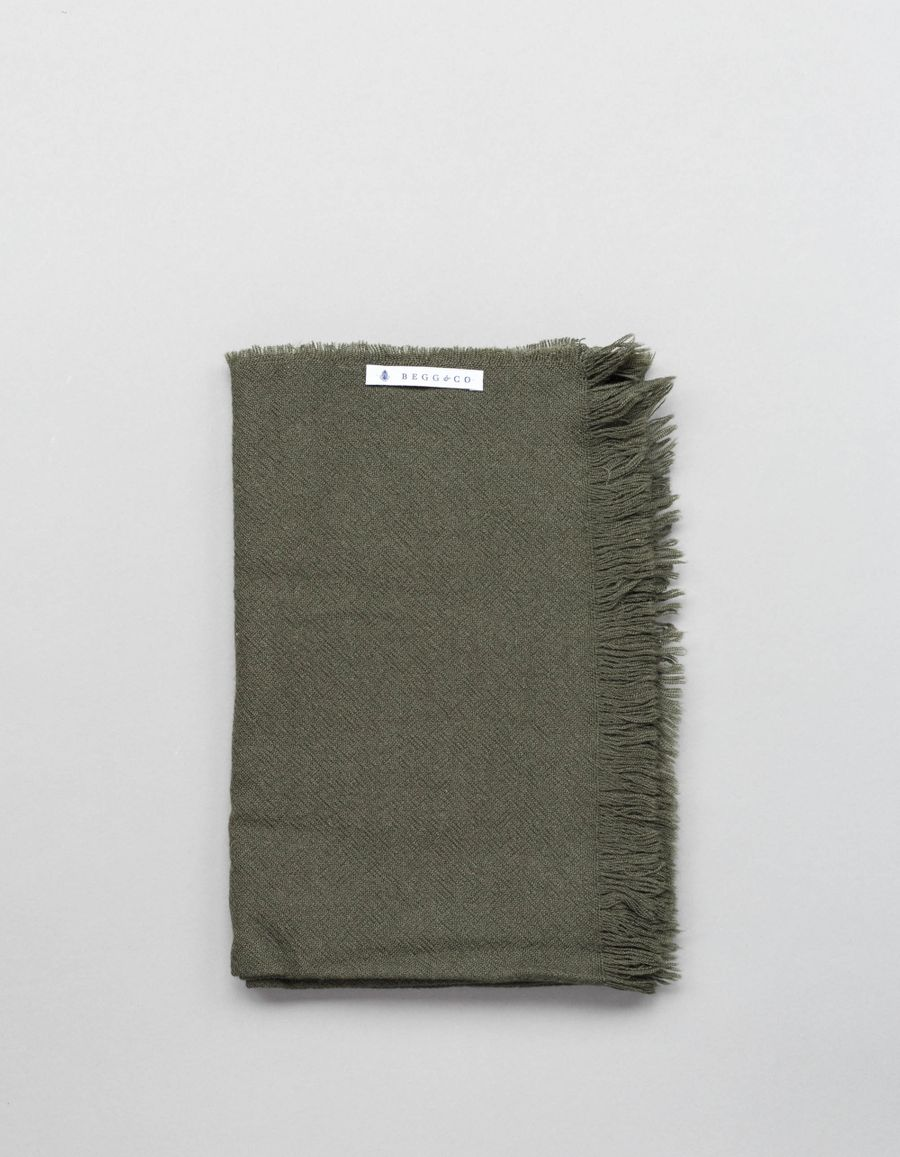 Begg & Co Kishorn Washed Cashmere Scarf