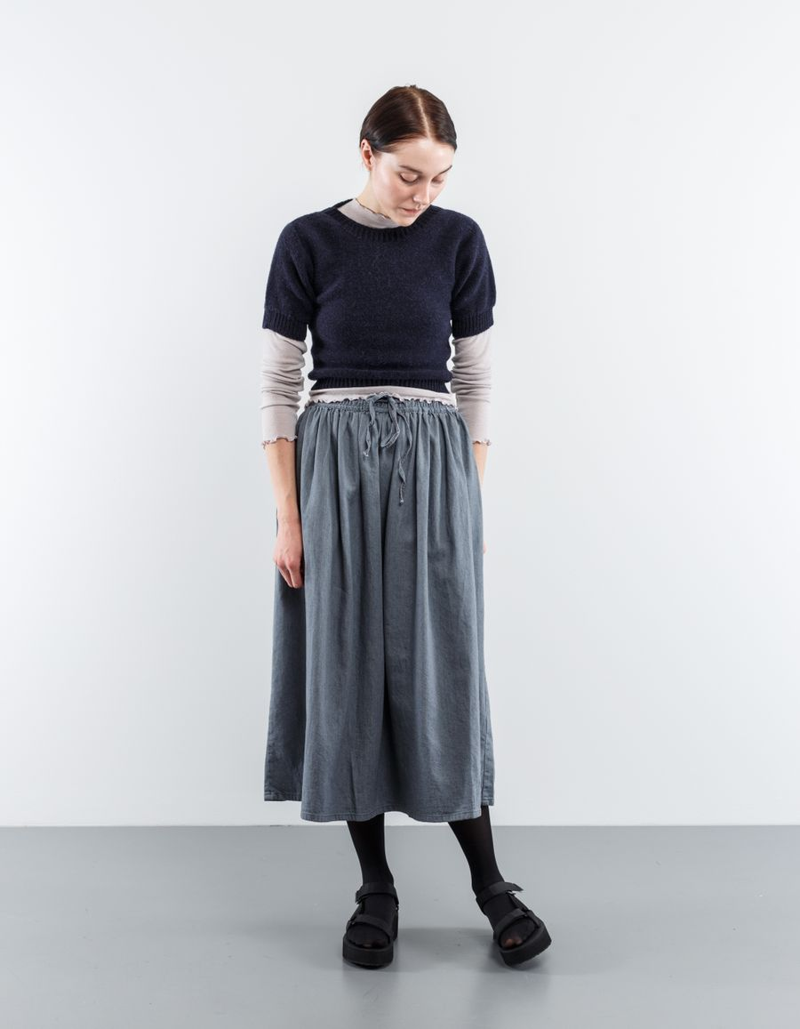 orSlow Long Length Gather Skirt