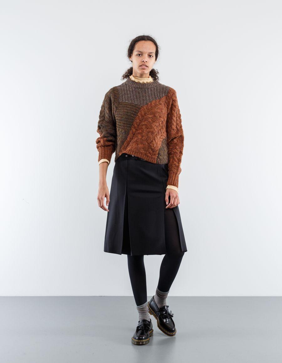Helmut Lang Kilt Skirt Pleated