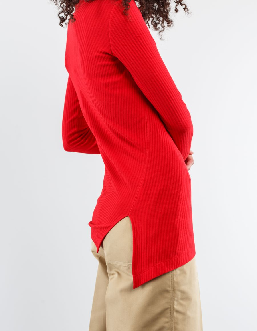 Helmut Lang - Rib Long Sleeve Turtleneck