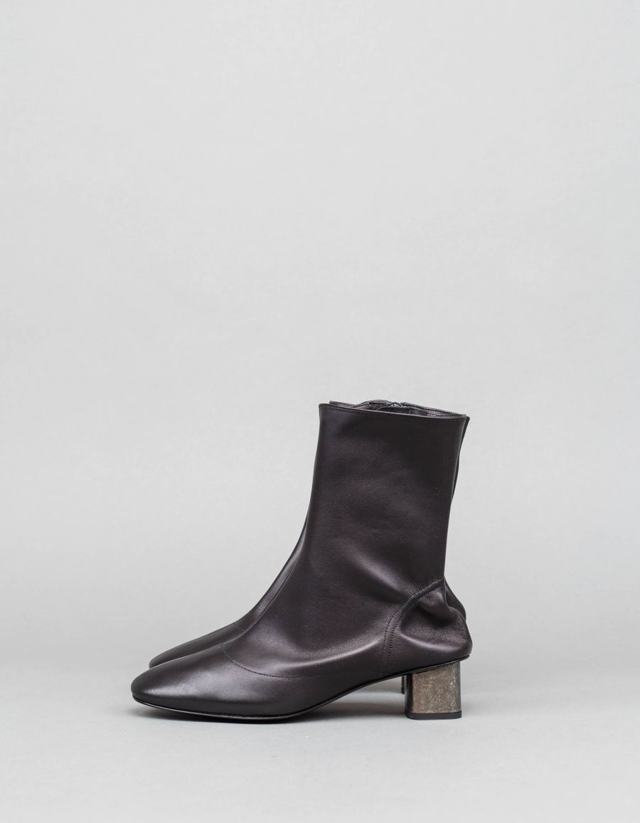 Robert Clergerie Plop Sock Leather Boot