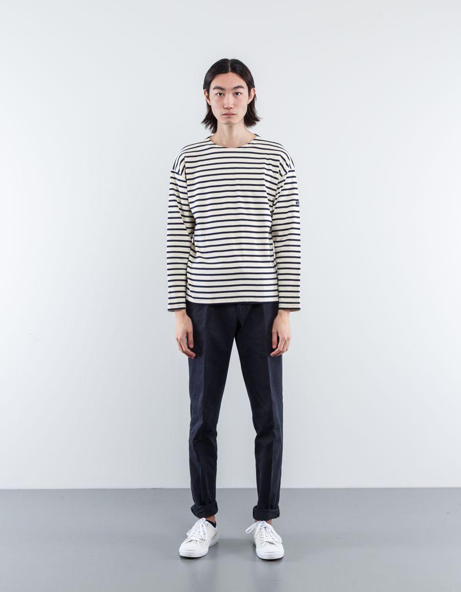 Armor Lux  L/S Marinere Stripe Sweatshirt
