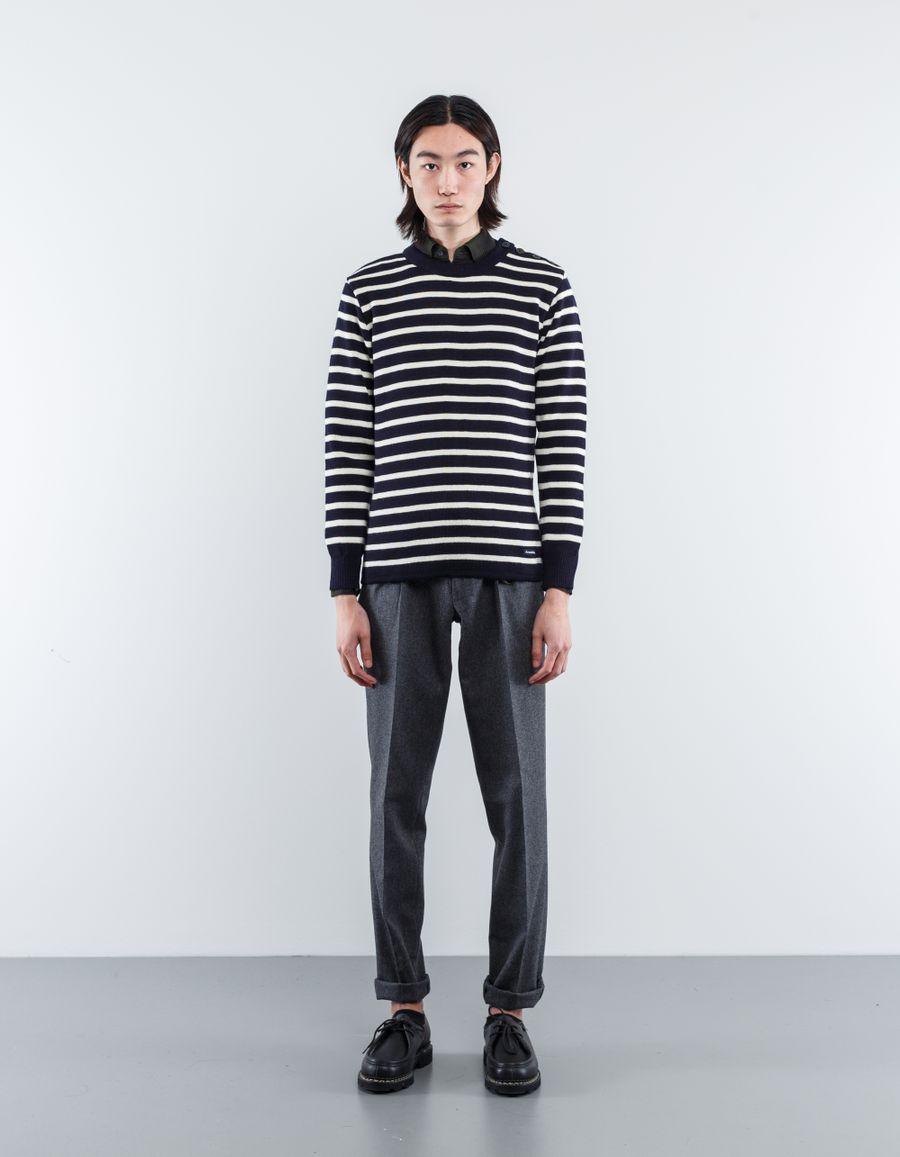 Armor Lux  Classic Stripe Wool Sweater