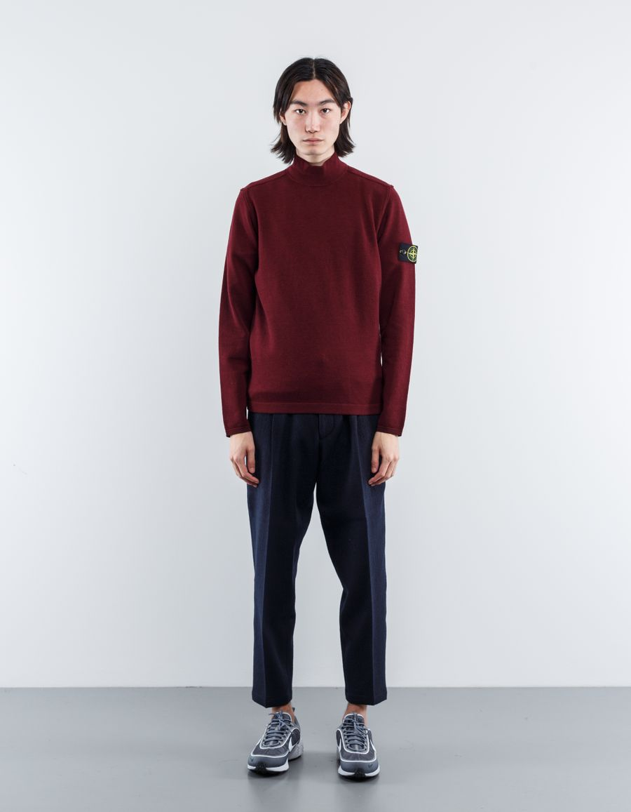 Stone Island Mock Neck Knit