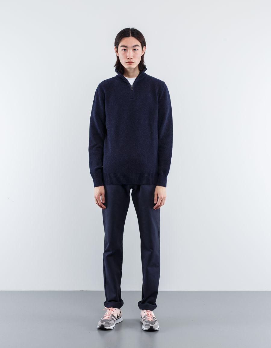 A.P.C. Leisure Wool/Cash Half Zip