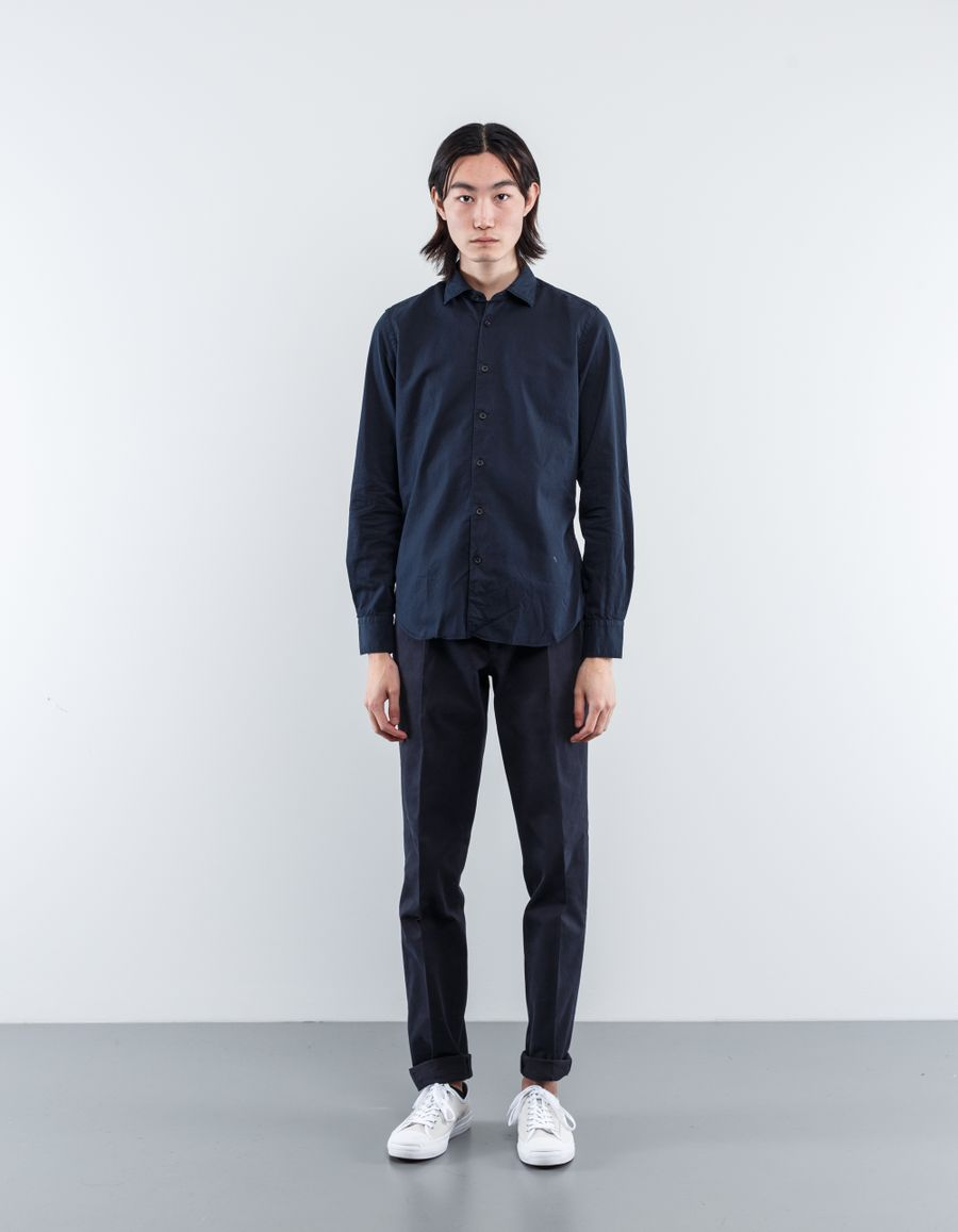 Nitty Gritty Washed gabardine shirt
