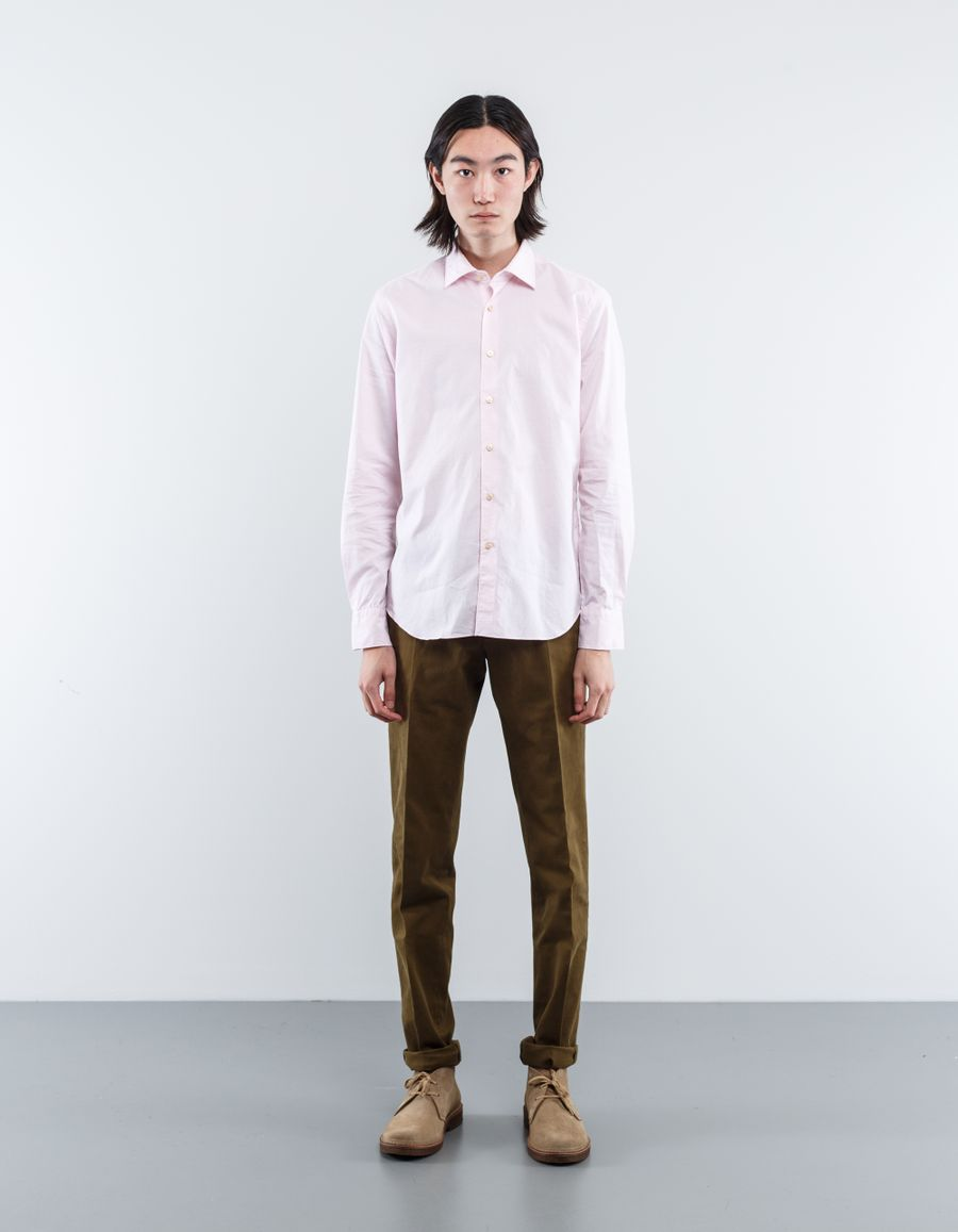 Nitty Gritty Washed Melange Oxford Shirt