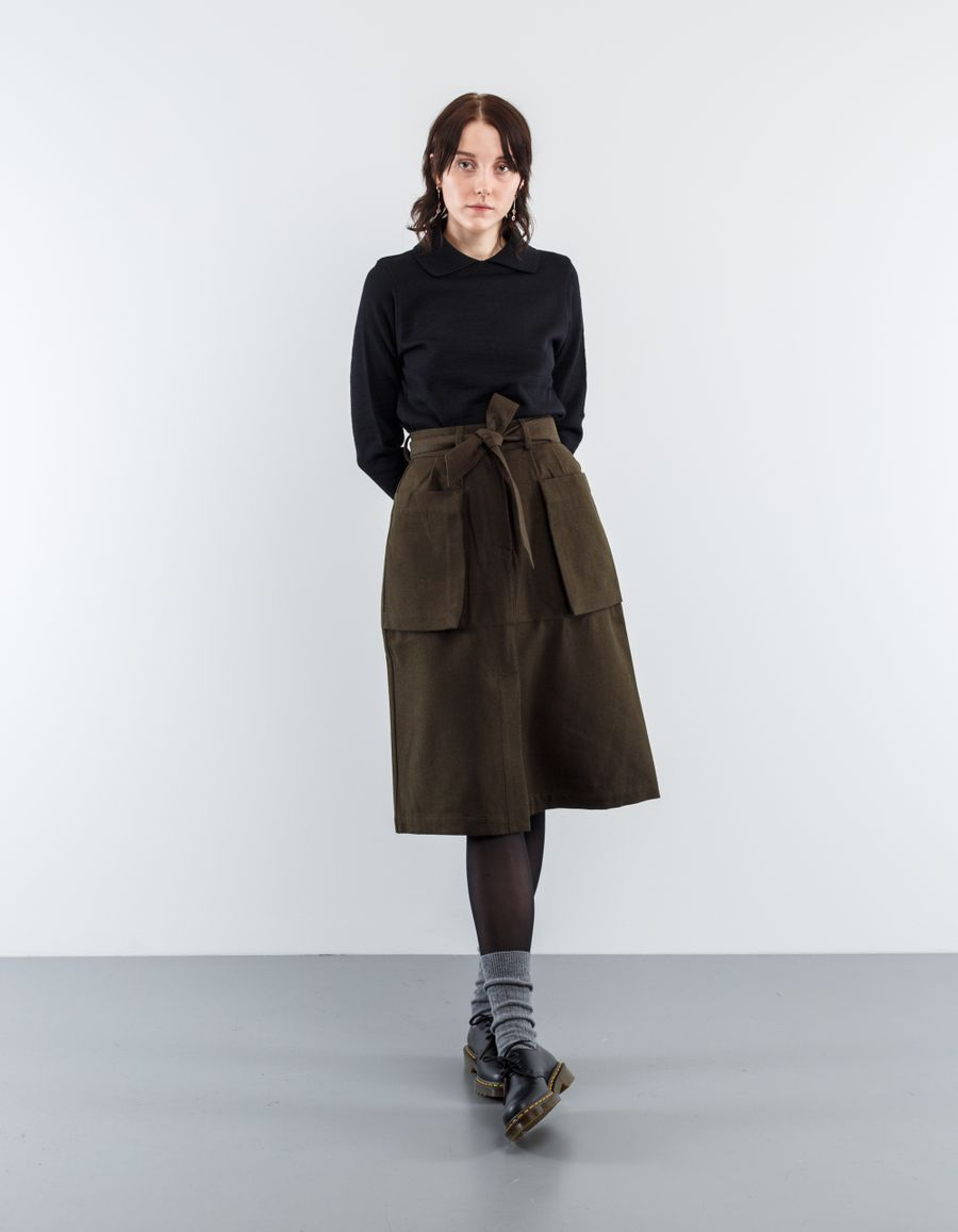 Margaret Howell MHL Self Belt Skirt