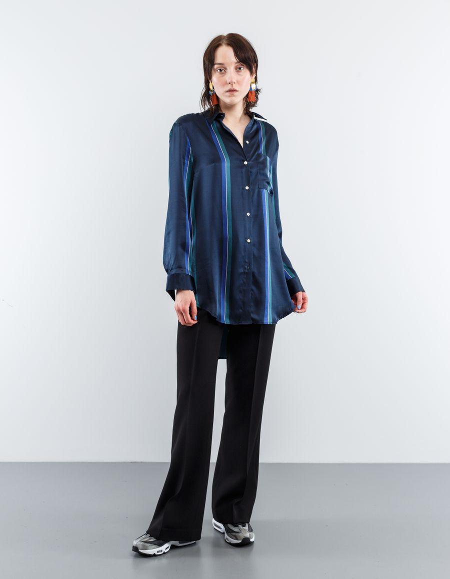 Asceno Sleep Shirt Sandwashed Silk