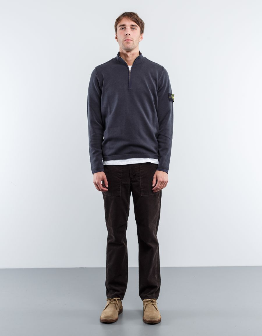 Stone Island 6715526A1 - Light Stretch 1/4 Zip Sweater