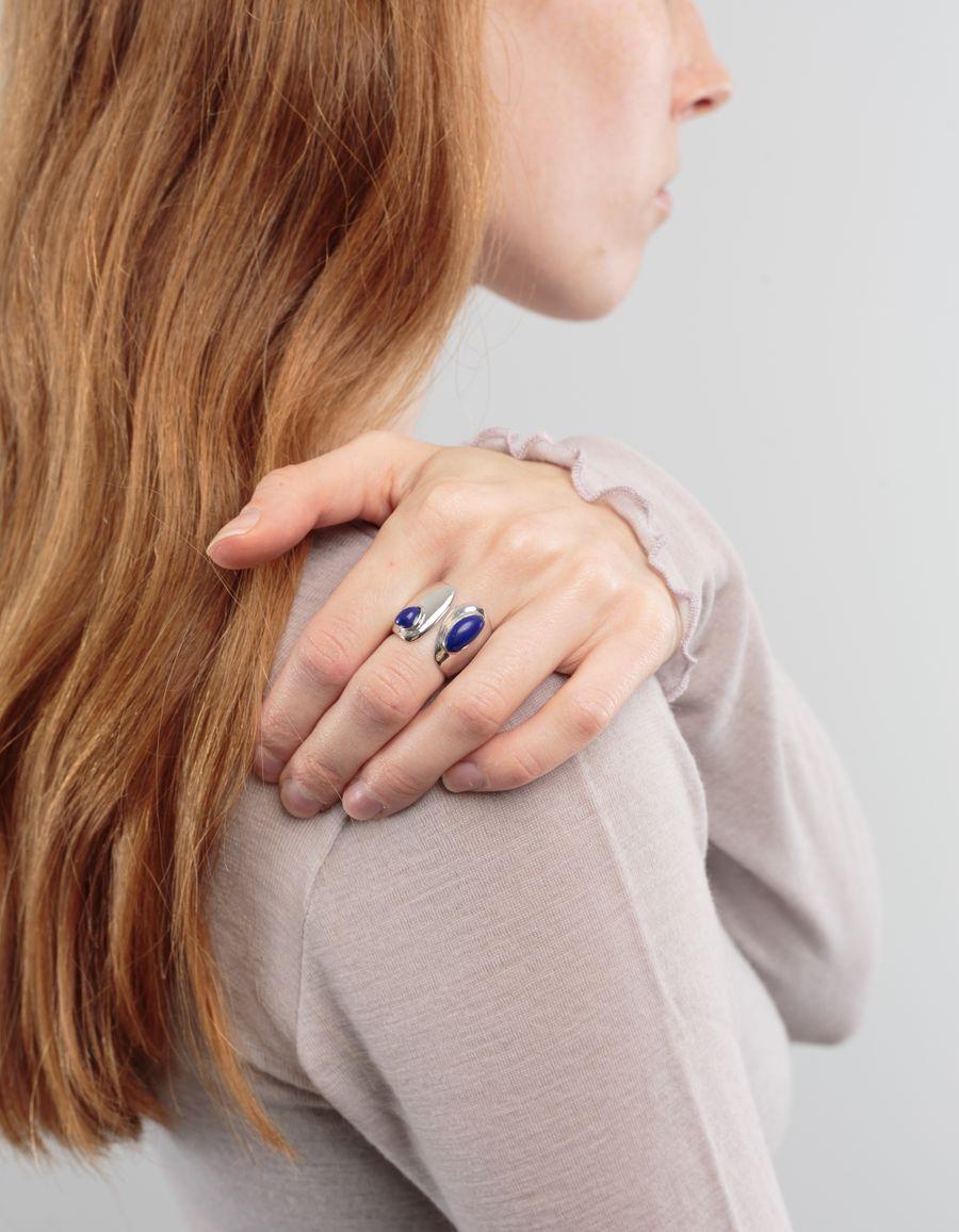Lizzie Fortunato Arp Ring Lapis