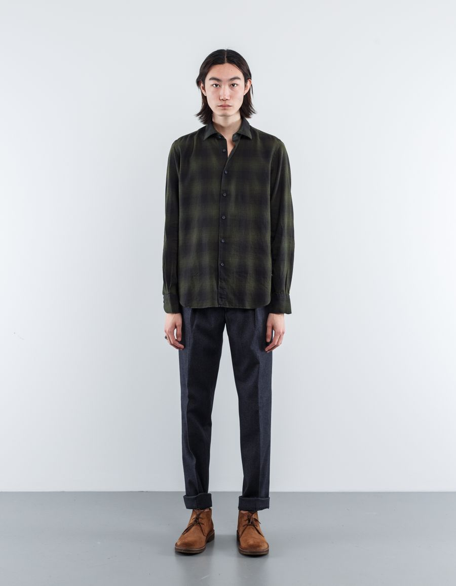 Nitty Gritty Washed Checked Shirt