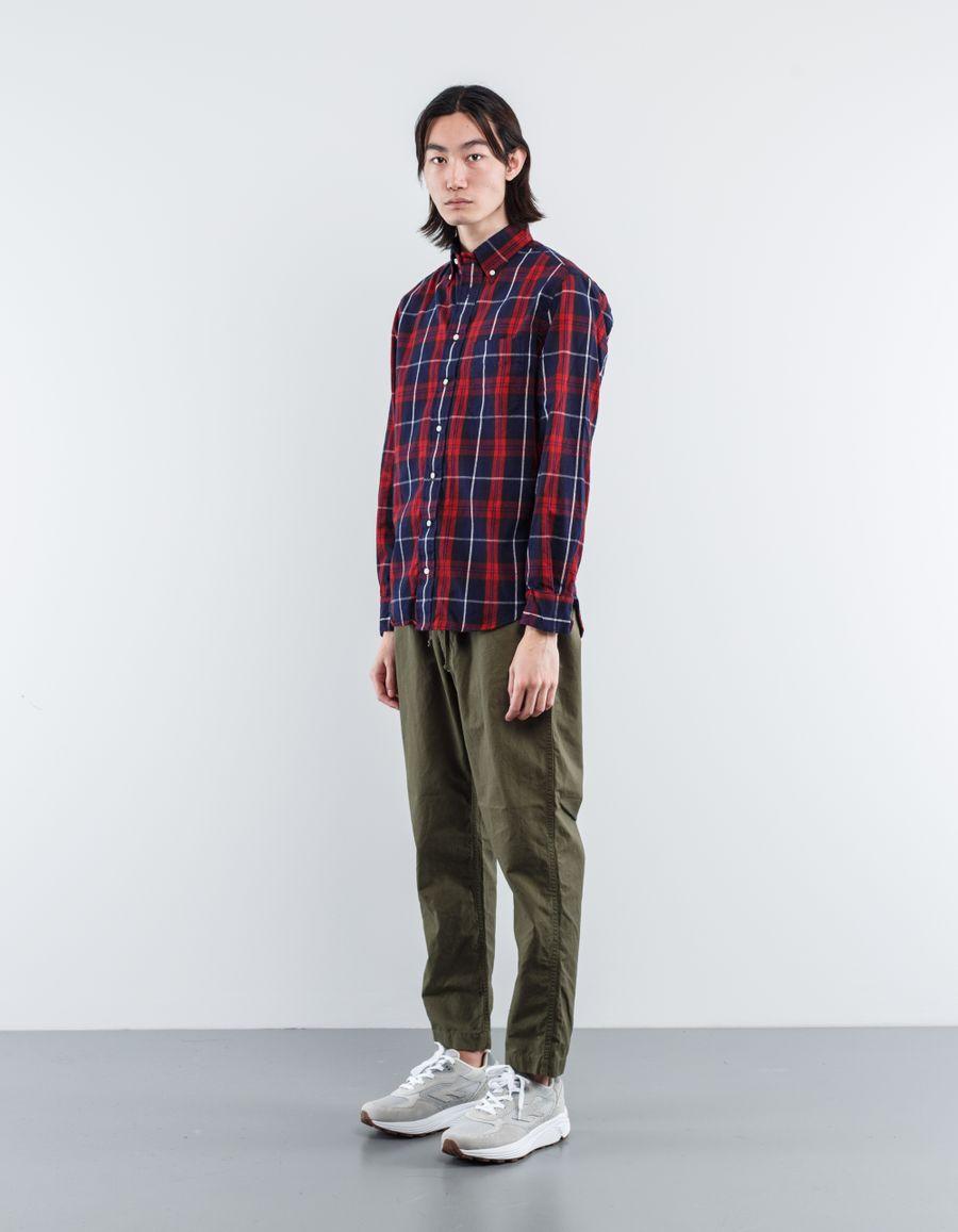 Gitman Vintage Plaid Flannel BD Shirt