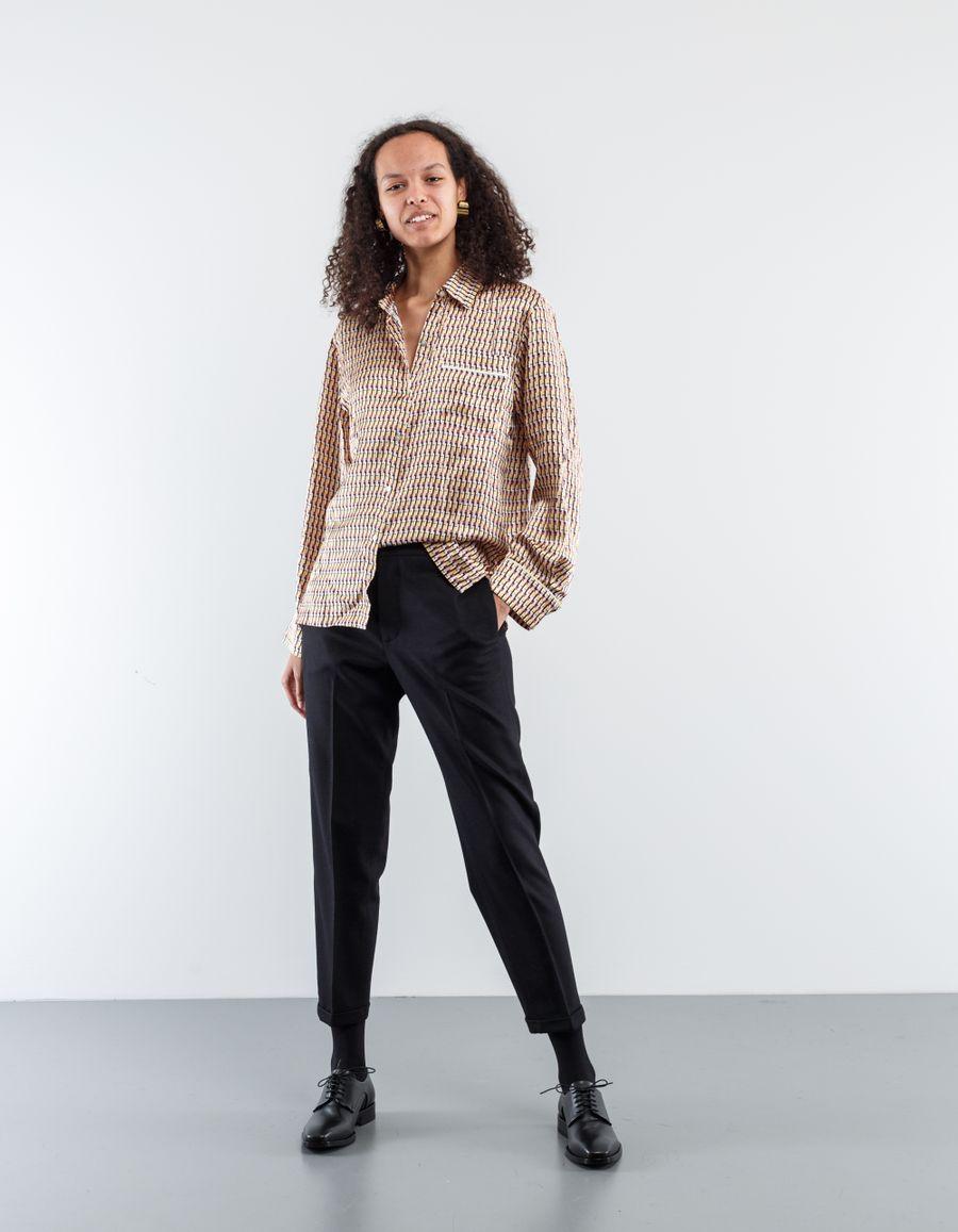 Barena Venezia Adele Frare Wool Trouser