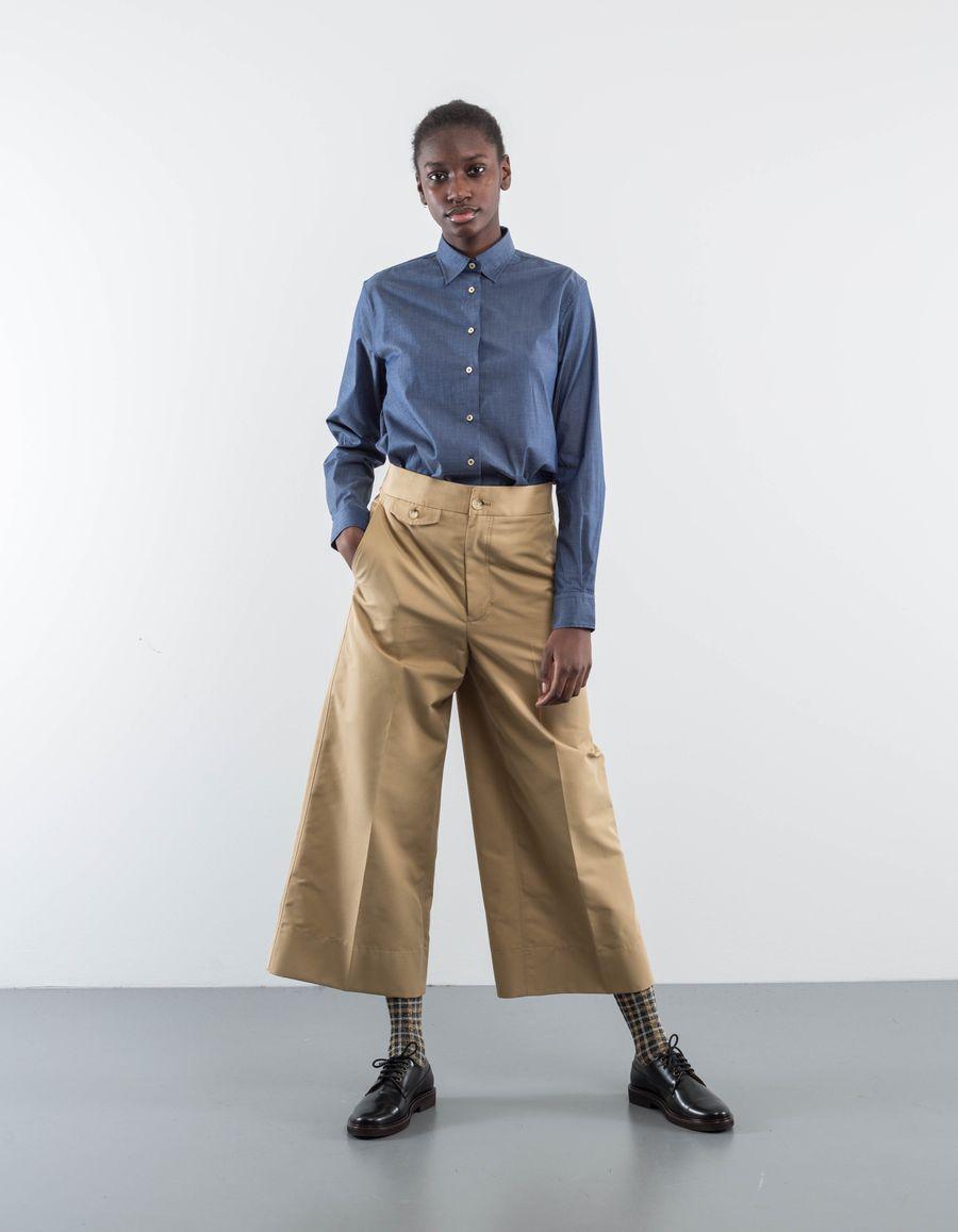 Nitty Gritty Marta Oversized Cotton Shirt