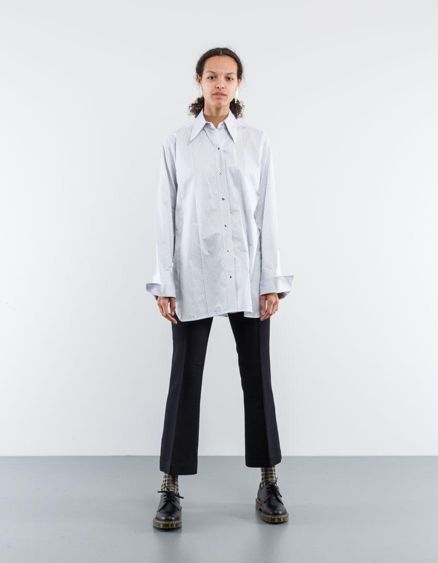 Helmut Lang Long Shirt Stripe