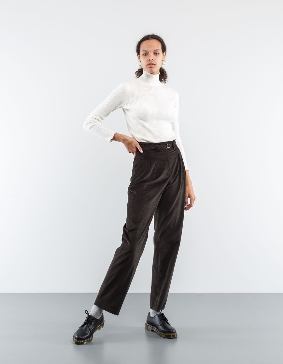 A.P.C. Joan Belted Trouser Corduroy