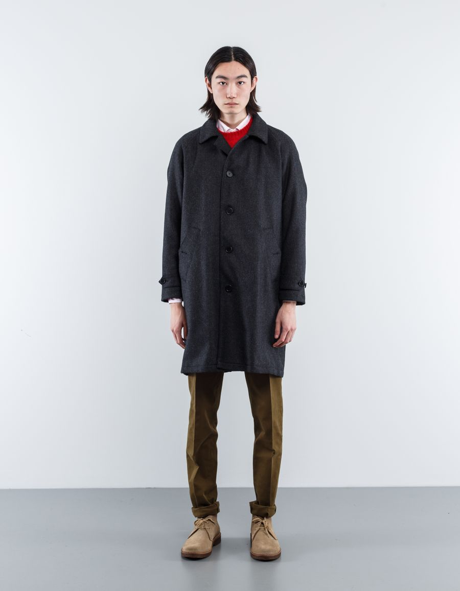 Aspesi Raglan Wool Coat