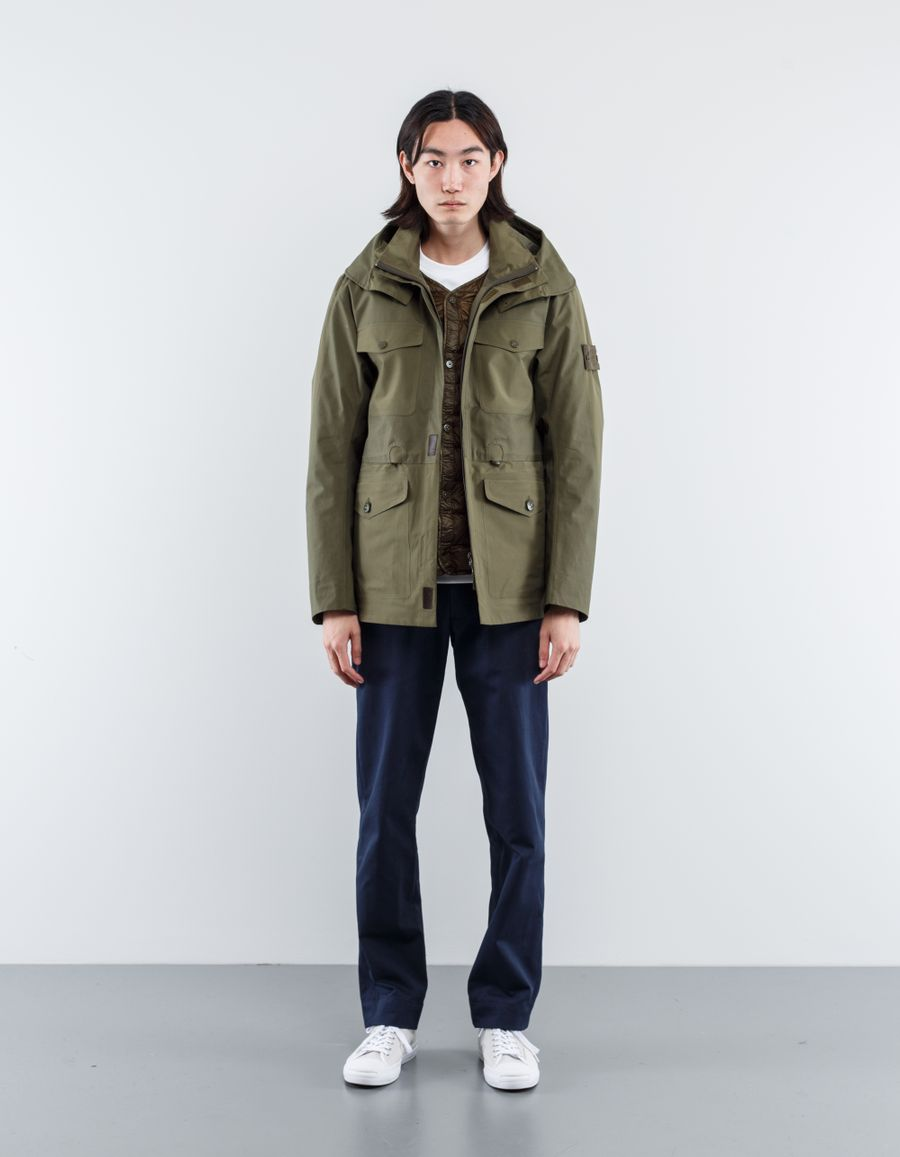 Stone Island 671542129 V0054 - Ghost Tank Shield Field Jacket
