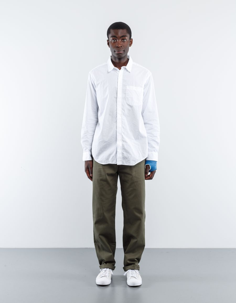 Engineered Garments  Short Collar Broadcloth Shirt