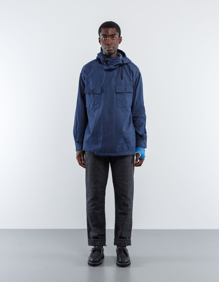 Engineered Garments  Lt Weight Denim Cagoule Shirt