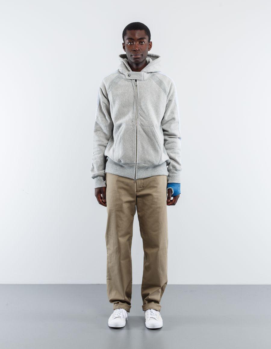 Engineered Garments  20oz Fleece Raglan Zip Hoody