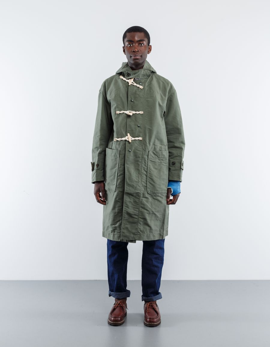 Engineered Garments  Cotton Doub. Cloth Duffle Coat