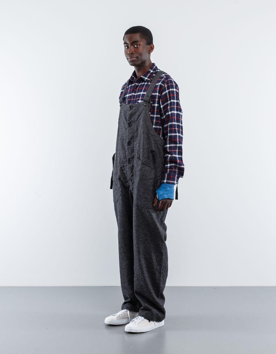 Engineered Garments  Wool Homspun Overalls