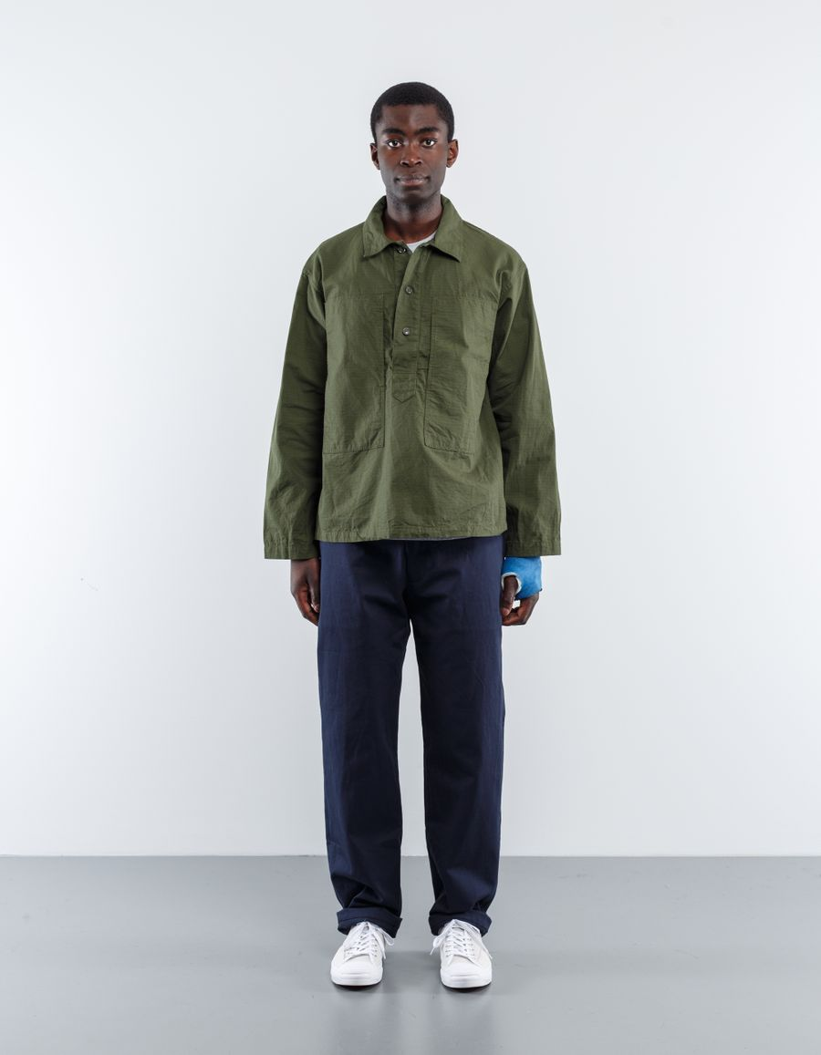 Engineered Garments  Workaday Ripstop Army Shirt Olive