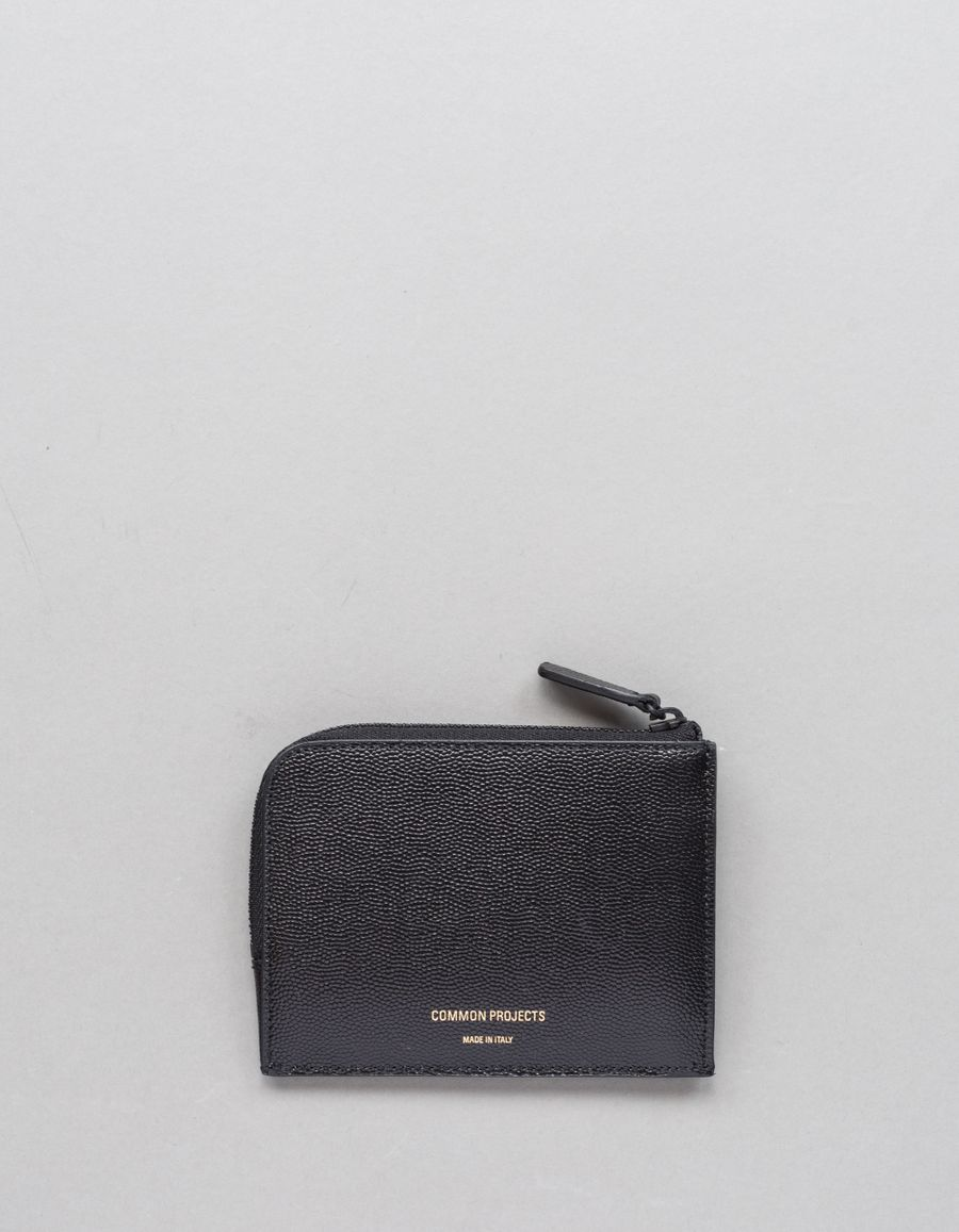 Common Projects Zipper Wallet - Grain