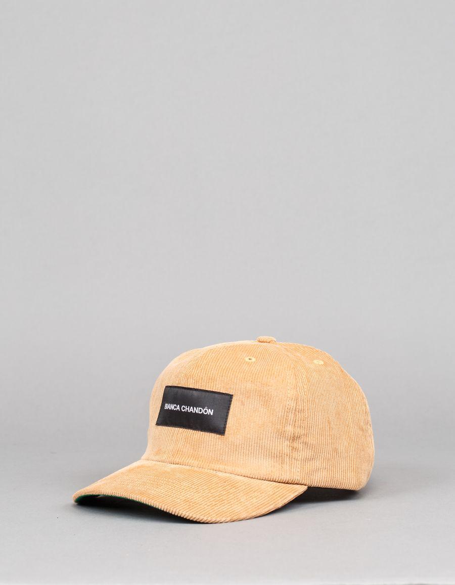 Bianca Chandôn Logo Label Cord Polo Hat