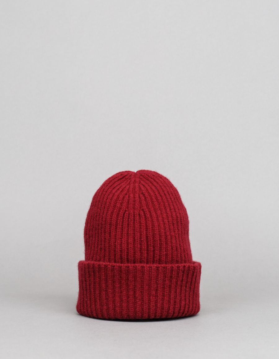 Nitty Gritty Wool/Cashmere Slim Rib Hat