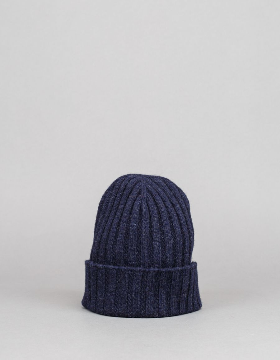 Nitty Gritty Wool/Cashmere Classic Rib Hat