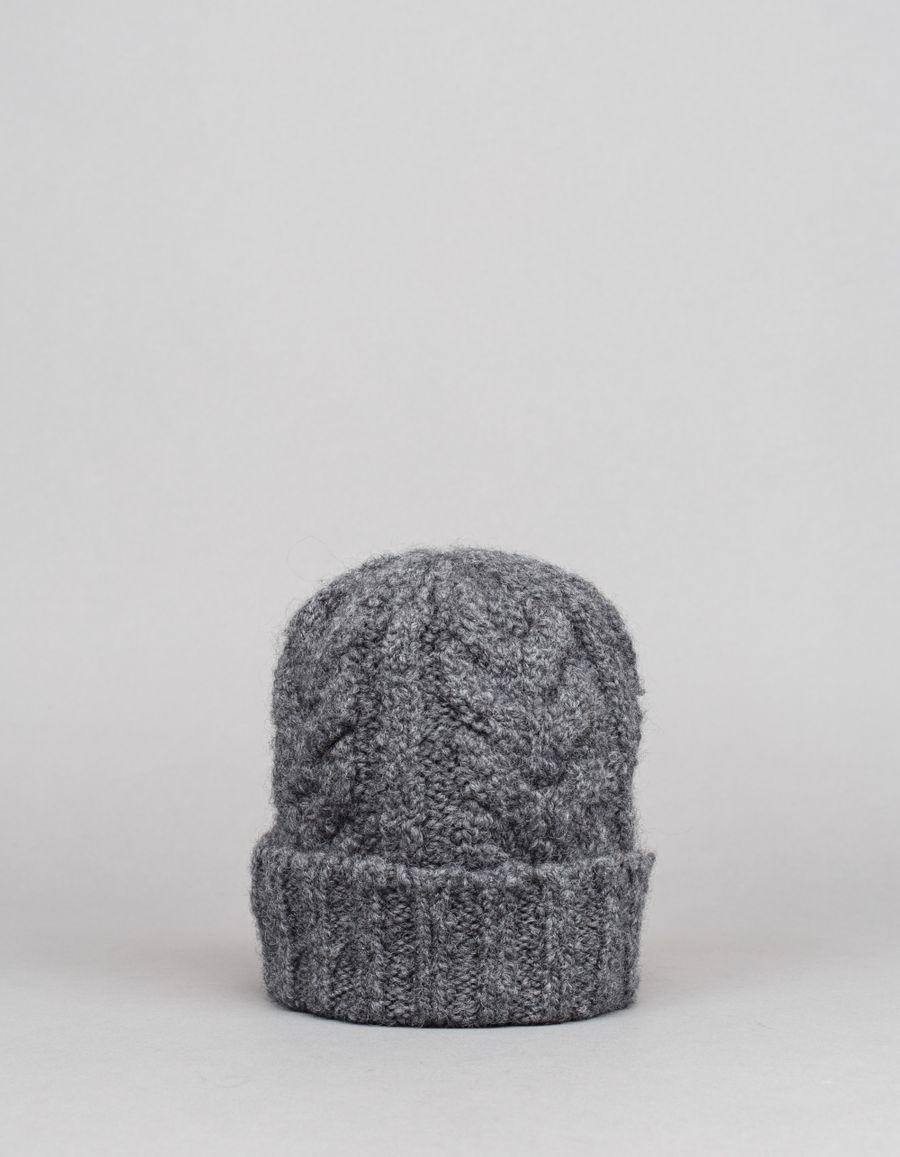 Nitty Gritty Organic Cable Knit Wo/Alpa Hat