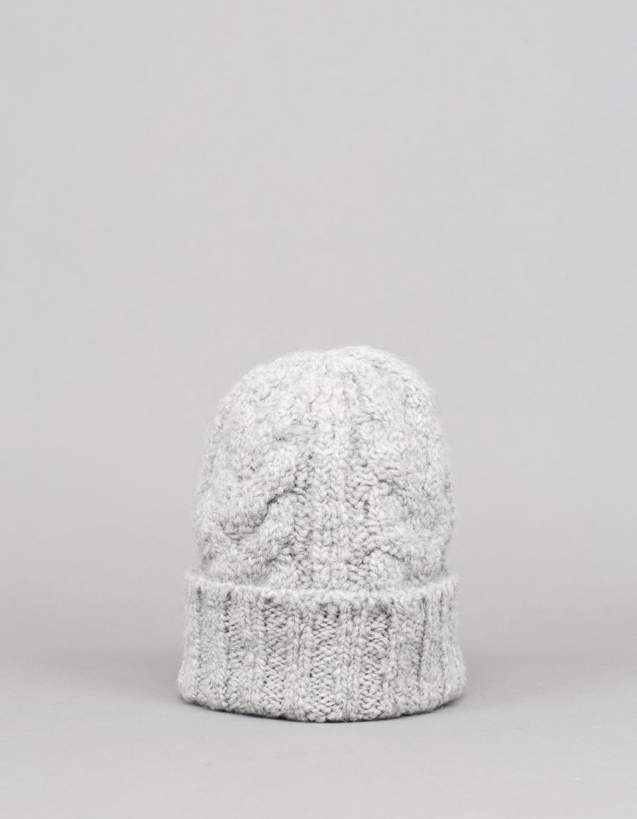 Nitty Gritty Organic Cable Knit Wo/Alpa Hat