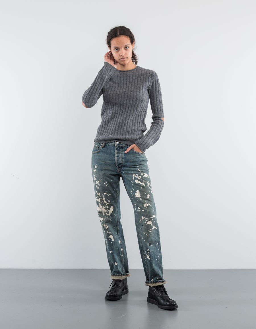 Helmut Lang Elbow Cut Out Sweater Re-Edition