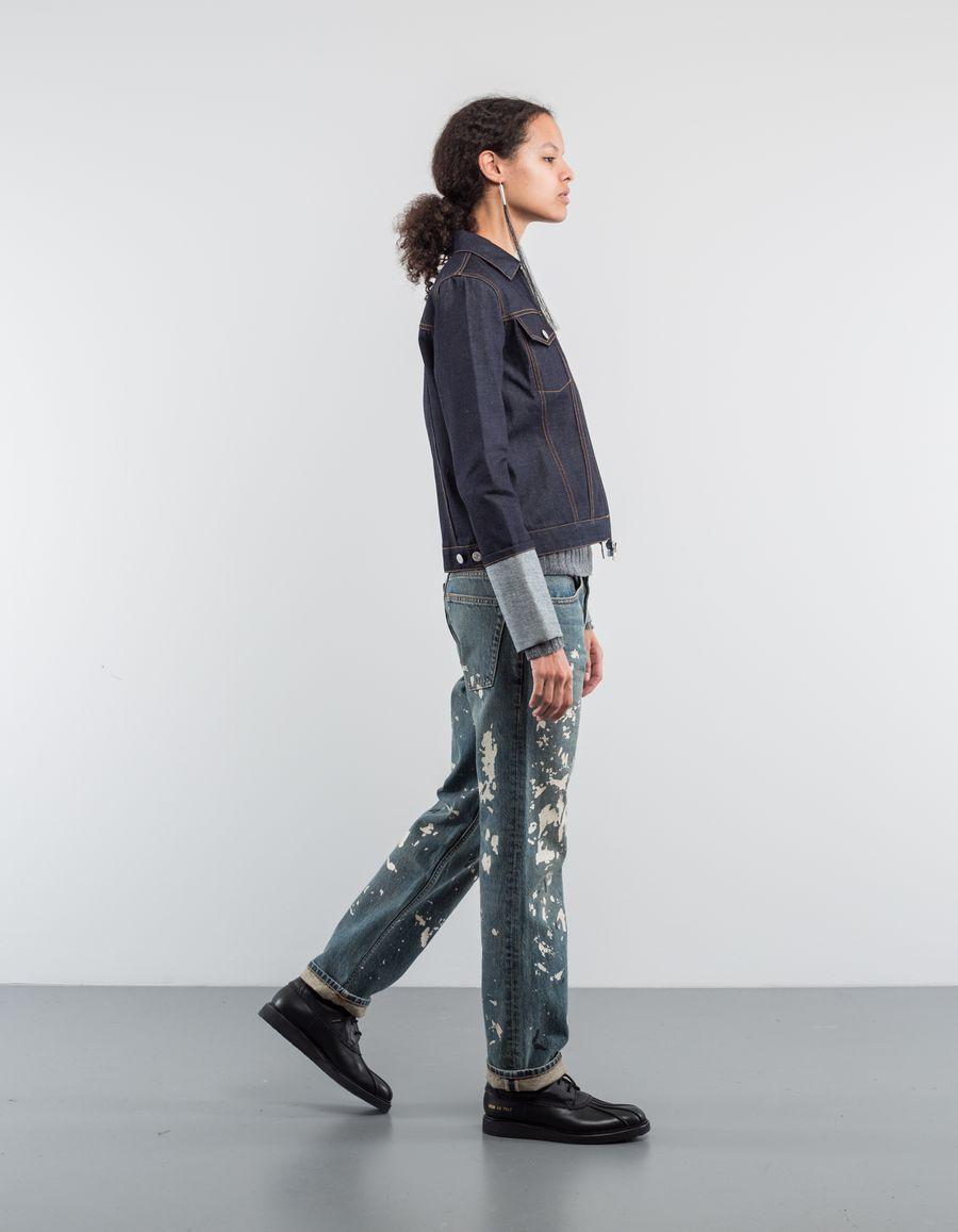 Helmut Lang Zip Denim Jacket Re-Edition