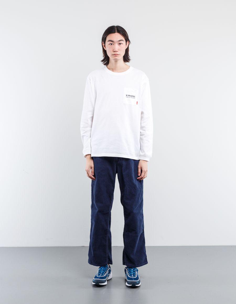 WTAPS W MIL L/S Pocket T-Shirt