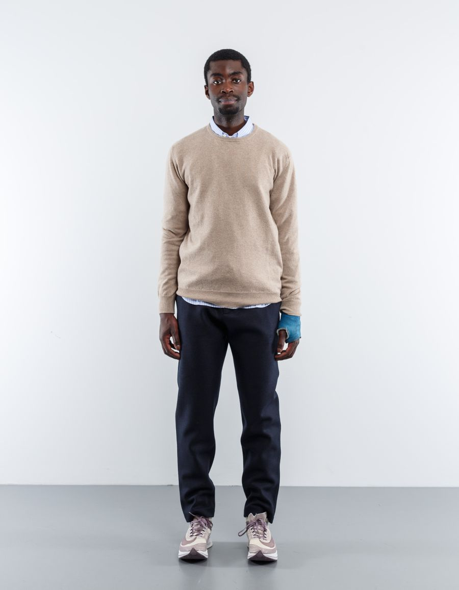 Nitty Gritty 12 Gauge CN Cashmere Sweater