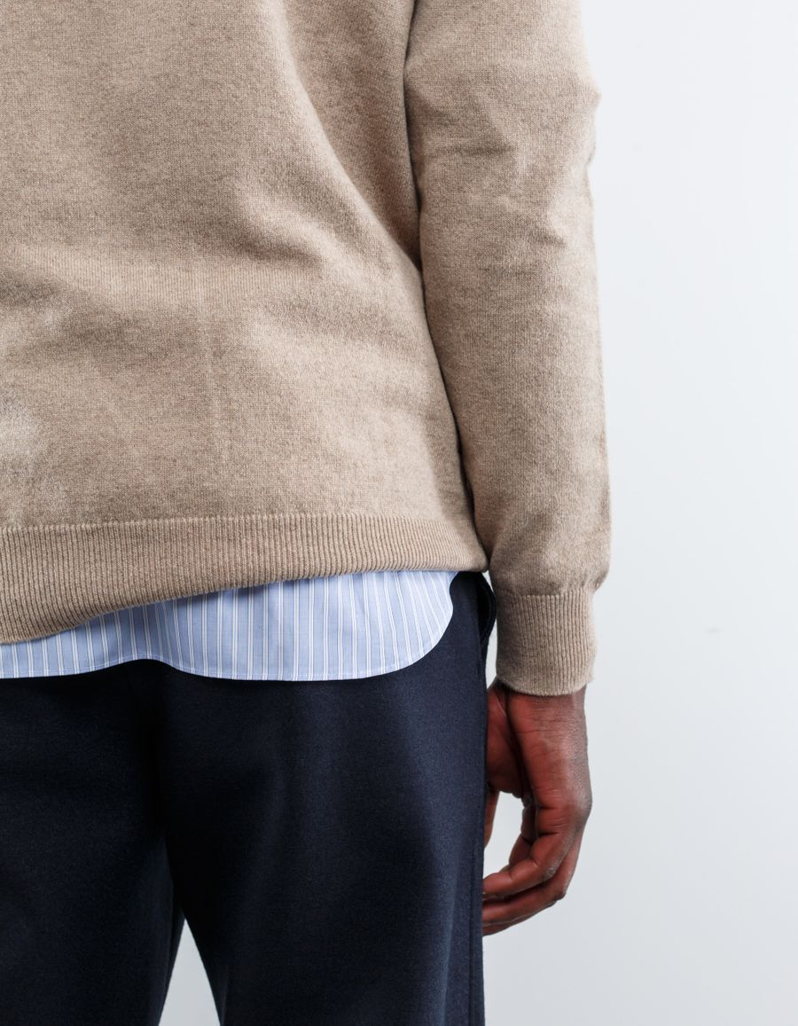 Nitty Gritty - 12 Gauge CN Cashmere Sweater