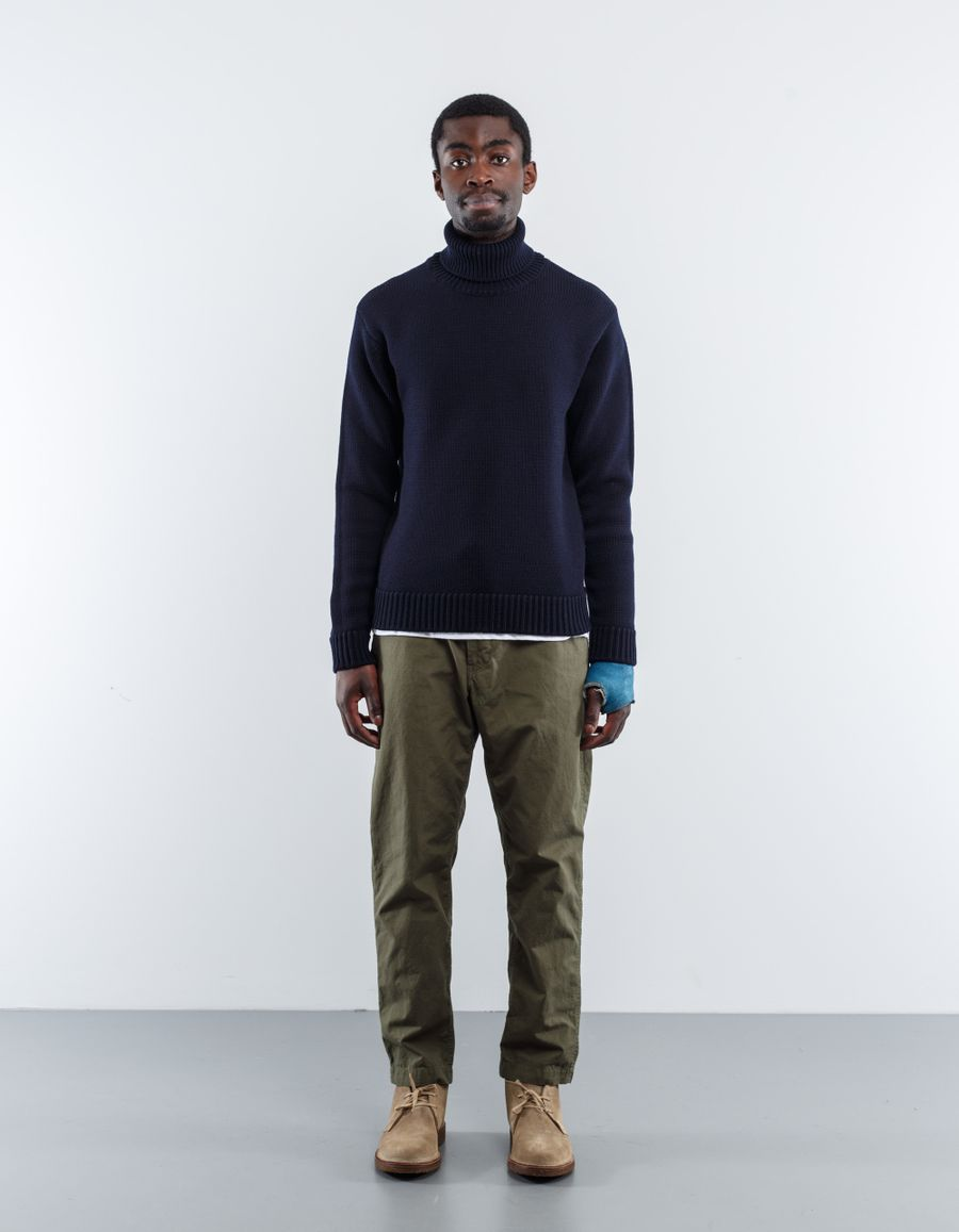 Nitty Gritty Heavy Knit Merino Roll Neck