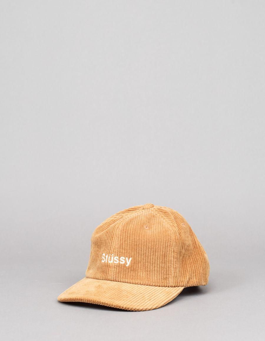 Stüssy Cord Strapback Cap