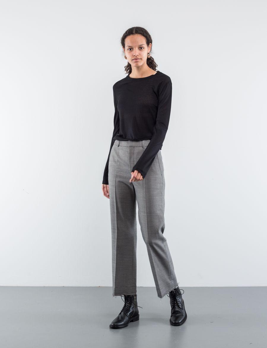 Helmut Lang Birdseye Suit Pant