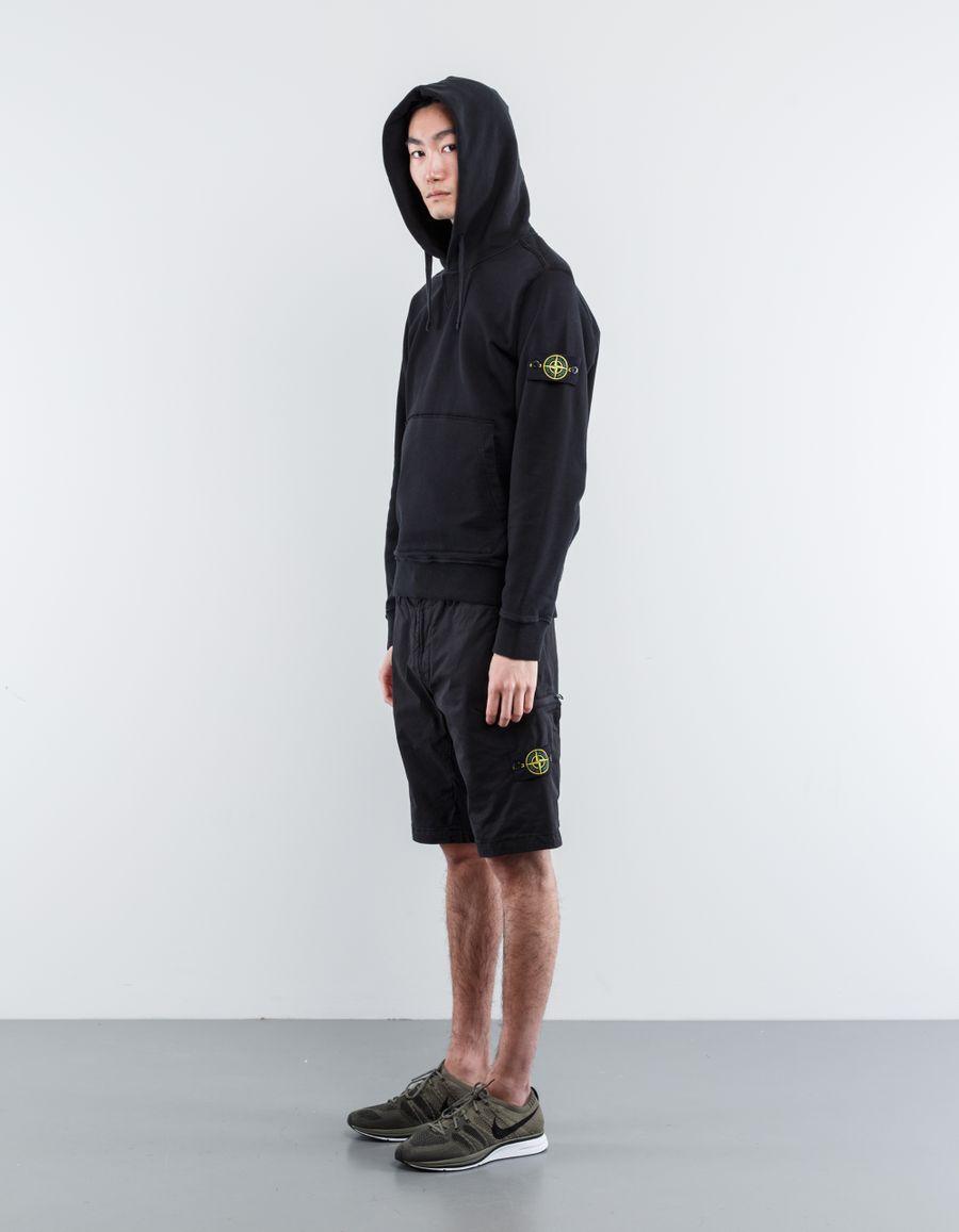 Stone Island 6815L0702 V0029 Active Bermuda Shorts Black