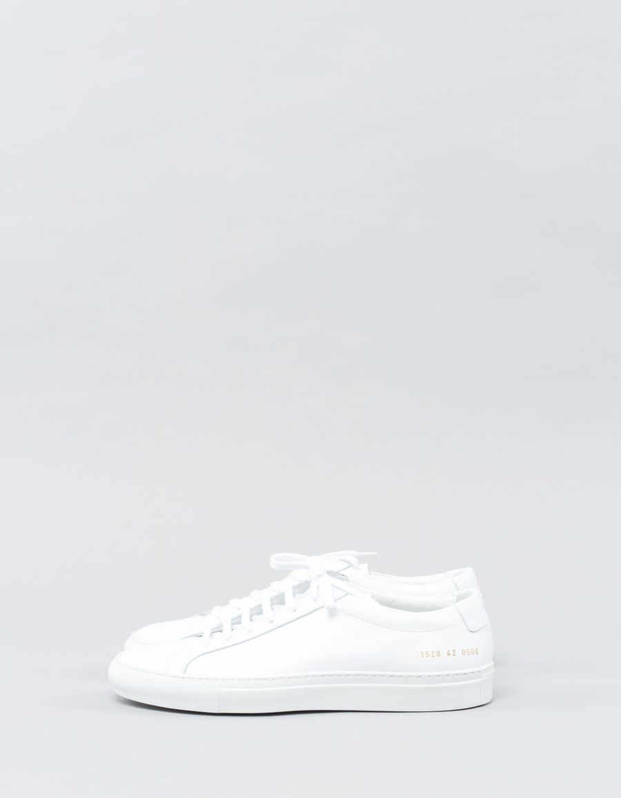 Common Projects Original Achilles Low White W
