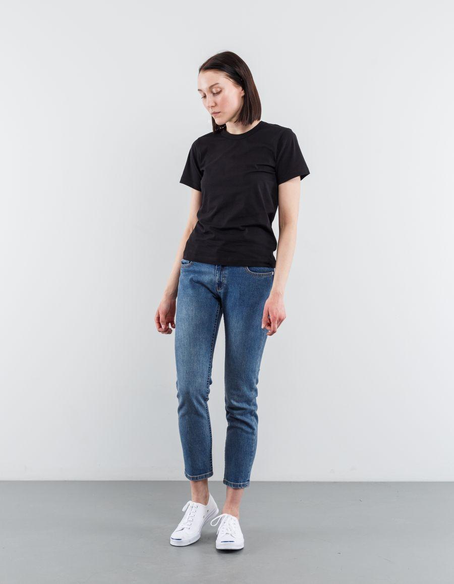 A.P.C. Etroit Court Jeans Blue