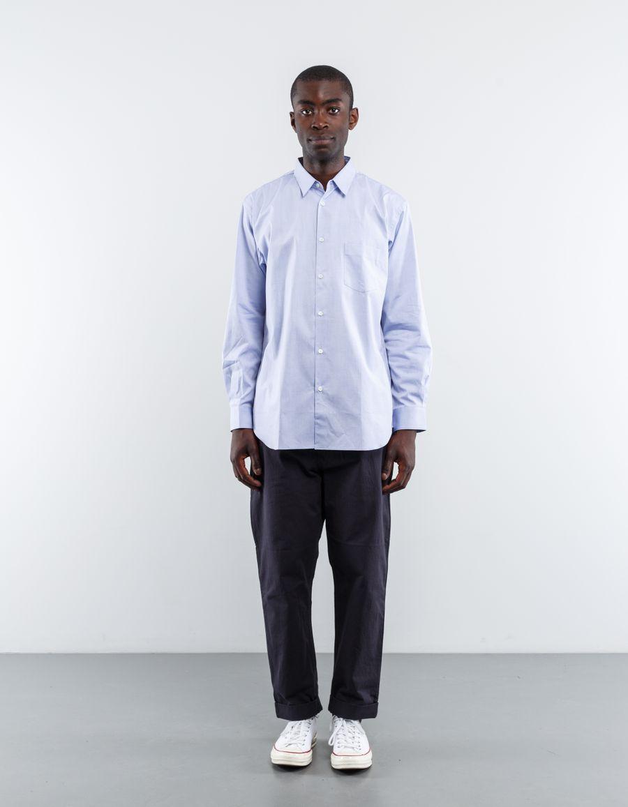 Comme des Garçons SHIRT Forever Narrow Classic Oxford Shirt Blue