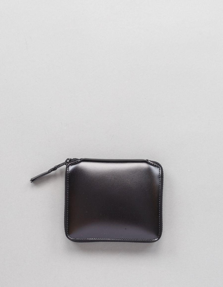 Comme des Garçons Wallet Full Zip Classic Wallet VB Black