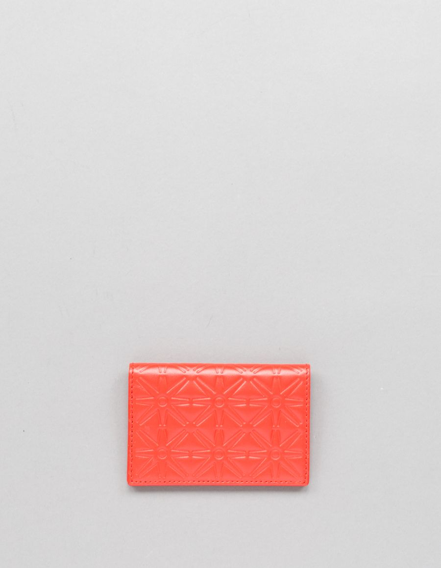 Comme des Garçons Wallet Small Card Case -Stars