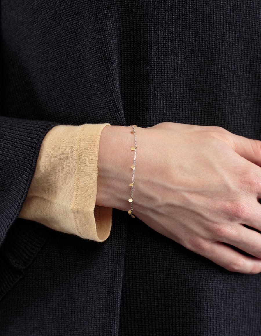 Sia Taylor 18k Yellow Dots Bracelet